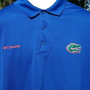 Florida Gators Columbia PFG Vented Polo